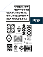 zentagles diseños tribales