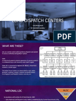 Load dispatch centers