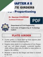 11 - Plate Girder (Proportioning)