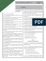 Algerie Loi 2018 05 Commerce Electronique