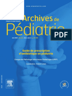 Guide de Prescription d'Antibiotique en Pédiatrie