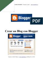 Crear Un Blog Con Blogger