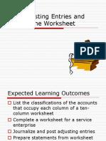 10 column worksheet