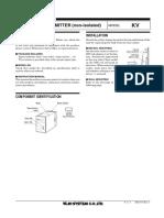 (emkv) SIGNAL TRANSMITTER (non-isolated)
