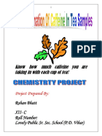 archivetempCBSE-XII-Chemistry-Project-Determination-Of-Caffeine-In-Tea-Samples