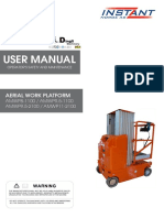 AMWP-1100 AMWP-2100 User manual