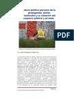 La Cultura Politica Peruana de La Propaganda y la Pinta Politica en las elecciones 2011