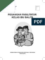 Pegangan Fasilitator Kelas Ibu Balita 2019