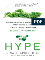 Hype_ a Doctor's Guide to Medical Myths by Nina Shapiro