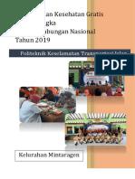 pemeriksaan kesehatan gratis dalam rangka Harhubnas 2019