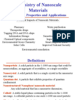 Chemistry of Nanoscale Materials