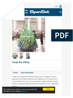 SpanSet - Cargo Net Lifting