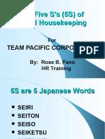 5s in good housekeeping