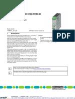 Phoenix 2320186 Spec Sheet