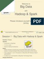 Big Data with Hadoop & Spark - Introduction