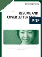 Resume Cover Letter Guide Revised 6 09