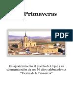 50 PRIMAVERAS - Partitura