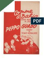 Comme à Bahia - Tonio Meraldez - 1 Ma