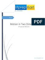 03-2_Physics_Motion in Two Dimension - Projectile Motion
