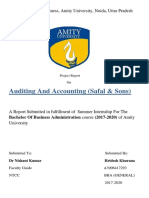 Accounting and Auditing Rough Draft NTCC