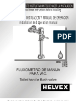 fluxometro helvex