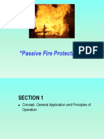 1.  Passive Fire Protection System