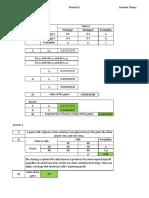 CT6, Prac 1, Decision Theory