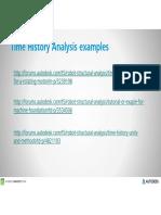 Time History Analysis - ARSAP