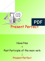Present Perfect Continuous and Present Perfect