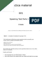 Speaking Parts 1 & 2 Global
