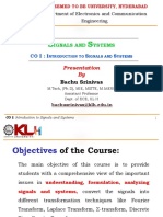 SS_KLH_CO I - Classification of Signals & Systems.ppt