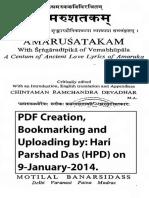 Amaru_sataka txt+tr Motilal.pdf