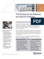 K 18 Probes for the Network and Service Analyzer Datasheet
