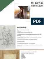 INTERIOR DESIGN - ART NOUVEAU  STYLE