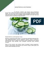 11 Manfaat Mentimun untuk Kesehatan.docx