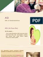 ASI oleh dr. Nanda Farrah Dina
