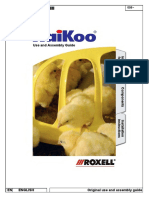 Roxell Haikoo broiler feeding pan