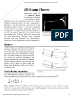 Euler-Bernoulli Beam Theory - Simple English Wikipedia, The Free Encyclopedia