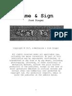 Jose Prager - Name & Sign