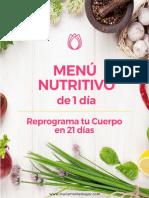 Menú+nutritivo+de+1+día