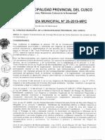 O.M.026-2019_Conformar el Comite Multisectorial