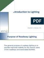 Highway Lighting Intro