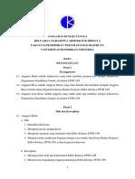 Anggaran Rumah Tangga KMA-Kridaya