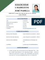 CV SILVIA MADELEYNI ARAMBURÚ PADILLA
