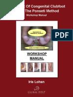 Iris Lohan - Treatment Of Congenital Clubfoot Using The Ponseti Method_ Workshop Manual