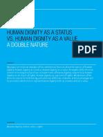 Human dignity as a status vs human dignity as a value_ba54d3dd1665e4767f330c91b4ab65a9ebe7