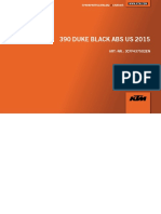 2015 BLACK DUKE 390 CHASSIS PARTS BOOK
