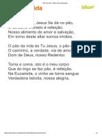 PÃO DA VIDA - Padre Zeca