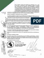 COMPROMISO DE CANDIDATOS QUE FIRMARON PLATAFORMA DE LUCHA DE CENAJUPE