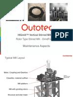 HIGmill Technology - Maintenance Aspects